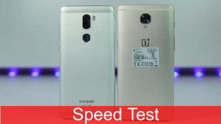 Oneplus 3t vs Cool1 Speed test