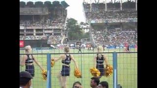 KKR celebration of cheerleaders