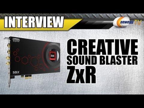 Newegg TV: Creative Sound Blaster ZXR Interview