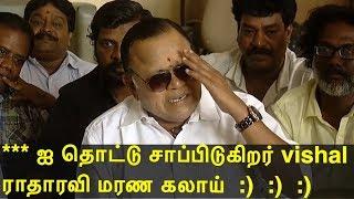 vishal vs cheran  radhika, radha ravi & s ve shekar joins  cheran | latest tamil news today  redpix