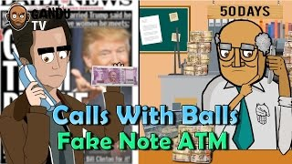 Fake Note ATM Prank - Calls With Balls | BollywoodGandu