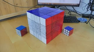22x22 rubik's cube World Record