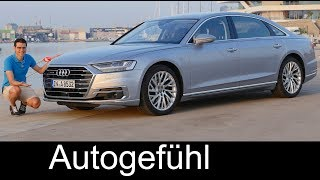 Audi A8 documentary - FULL REVIEW A8L 55 TFSI 3.0 all-new 2018 neu - Autogefühl