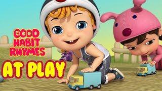Kids At Play | Good Habit Songs for Children | Infobells