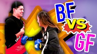 GF PUNCHED ME As Hard As She Could!!