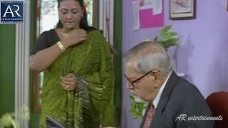 Sorry Maa Aayana Intlo Unnadu Movie Scenes | Shakeela Tries to Attract Boss | AR Entertainments