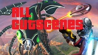 Destroy All Humans Path Of The Furon ALL CUTSCENES