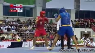 نهائي بطولة العالم 2017 في الووشو كونغ فو ساندا في أوزان 48 - 52  - 56