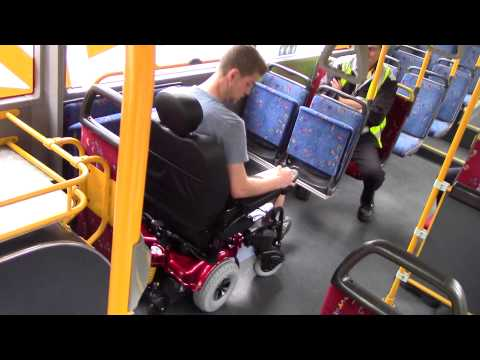 Xxx Mp4 Allure Electric Wheelchair On A Public Transport Bus 3gp Sex