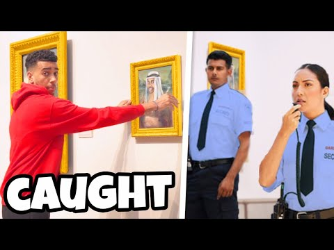 SNEAKING A Painting Into National ART GALLERY