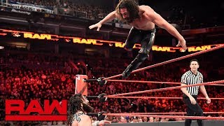 Seth Rollins vs. Elias - Seven-Man Gauntlet Match Part 3: Raw, Feb. 19, 2018