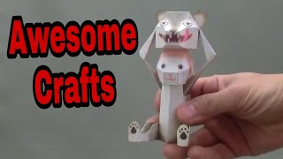 New paper craft toys