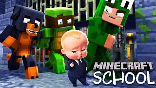 Minecraft School - BOSS BABY PRISON ESCAPE PLAN!