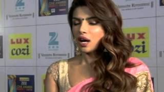 Priyanka Chopra In Sexy Pink Saree