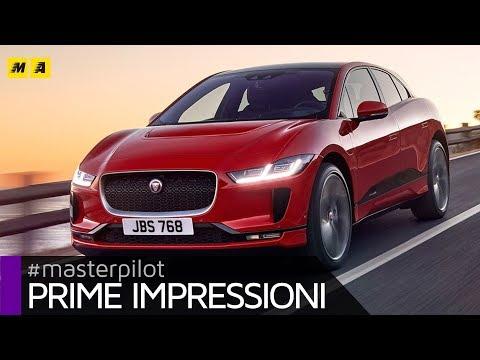 Jaguar i Pace SUV elettrica con 400 CV e 480 km di autonomia EV. Test prova