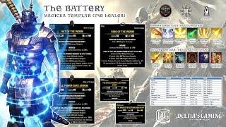 ESO PvE Templar Healer for Homestead The Battery