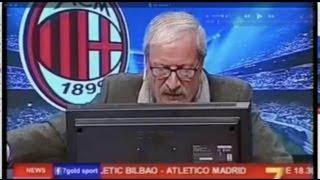 DirettaStadio 7Gold Milan Napoli 1-2 Tiziano Crudeli mooolto triste!