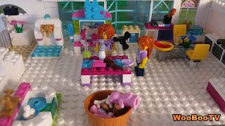 LASTENOHJELMIA SUOMEKSI - Lego city - Koirahoitola - osa 1