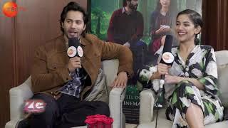 Interview with Varun Dhawan and Banita Sandhu in Dubai - Movie October - Priya Jethani