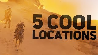 Assassin's Creed Origins - 5 Cool Locations You Should Visit