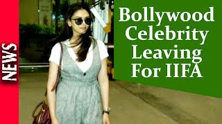 Latest Bollywood News - Celebrity Airport Look For IIFA - Bollywood Gossip 2017 uploaded on 18-03-2018 266 views