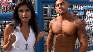 Fun Times With Layla at Muscle Beach