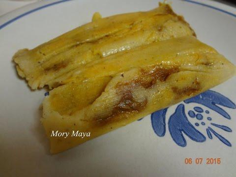 Tamales rojos de cerdo puerco receta