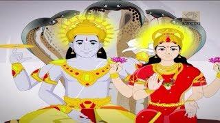 Lord Vishnu - The Savior of the Heavens - (Full Story - Animated) - Stories for Children