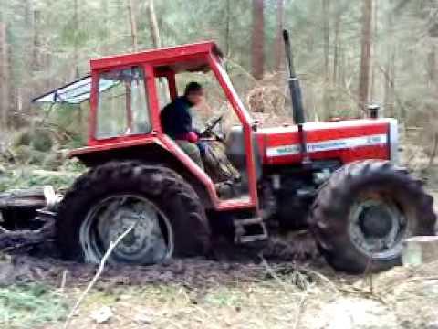 Zrywka drewna MF290
