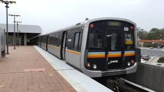 MARTA Transit: 1982/2002 FB/Breda CQ310/CQ312 Gold Line at Brookhaven/Oglethorpe Station