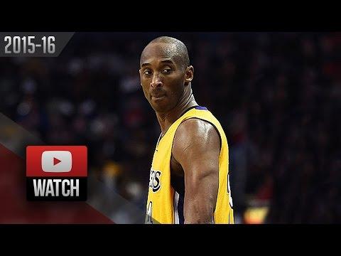 Kobe Bryant Full Highlights at Pelicans (2016.02.04) - 27 Pts, 12 Reb, (Lakers Feed)