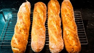 How to make French Baguettes at home