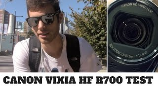 Canon VIXIA HF R700 Camcorder Review and Test (Camcorder for Vlogging)