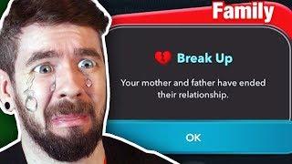 My Parents Got Divorced Because I Was Too Ugly - BitLife
