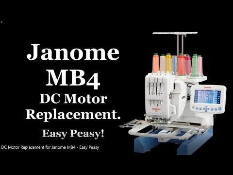 Xxx Mp4 DC Motor Replacement For Janome MB4 Easy Peasy 3gp Sex