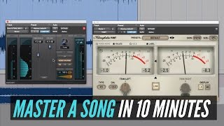How To Master A Song In 10 Minutes - RecordingRevolution.com