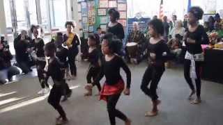 Sarafina Dance and Freedom Eddie James