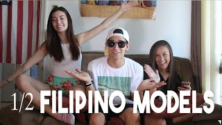 Half Filipino Models (Another day in the Philippines - Vlog 82)