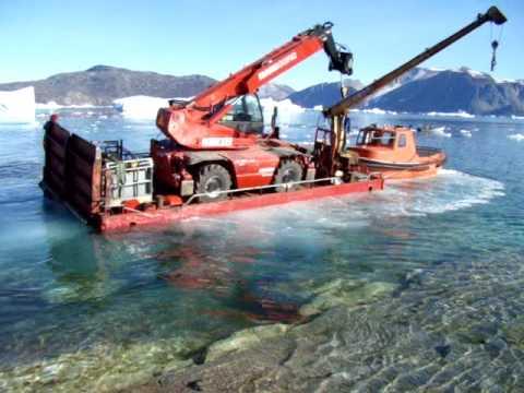 Manitou crash on Greenland.