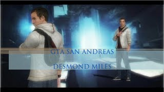 GTA SA | Desmond Miles [Assassin's Creed III] (HD)