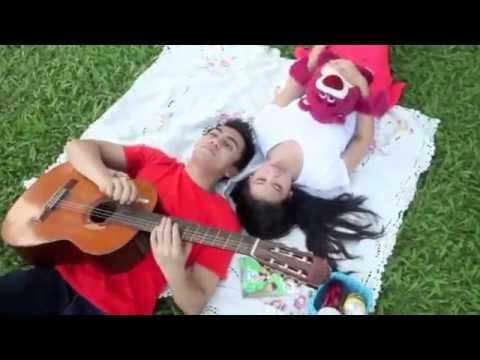Ungu ft Andien -saat bahagia (lip sync video cover) mp3