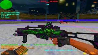 Counter Strike 1.6 - Zombie Escape - JurassickPark3 Escape | World War'Z [RETEXTURED]