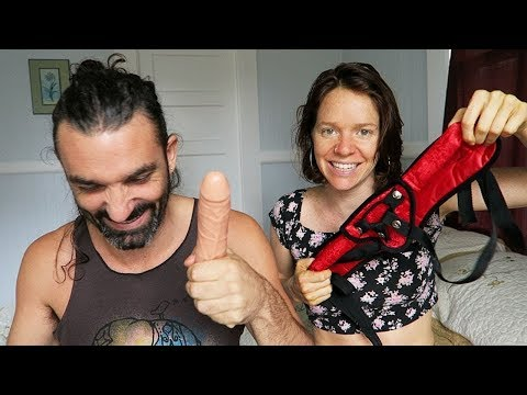 Learn to STRAP ON || for all genders || anal sex