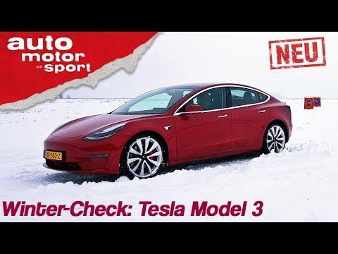 Xxx Mp4 Tesla Model 3 2019 Winter Check Mit Alexander Bloch Review Fahrbericht Auto Motor Sport 3gp Sex