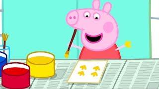 Peppa Pig Français | 3 Épisodes | La Peinture #PPFR2018