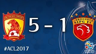 Guangzhou Evergrande vs Shanghai SIPG (AFC Champions League 2017: Quarter Final - 2nd Leg)