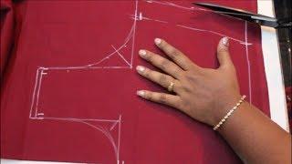 Cross Cut Blouse Cutting & Stitching (DIY) PART 1