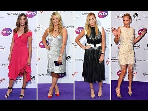 Xxx Mp4 Wimbledon Party 2017 Stars Of Women S Tennis Attend WTA 3gp Sex