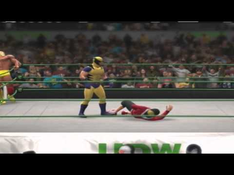 Wolverine Hulk Hogan vs. Pokémon Masters Red Gold