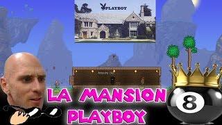 La Mansion Playboy, el calvo de brazzers y bola 8 | Serie terraria 1.3.4 #1